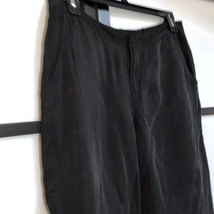Guess 100% Cupro Breathable Fabric Cropped Pants